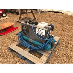 PORTABLE GAS AIR COMPRESSOR
