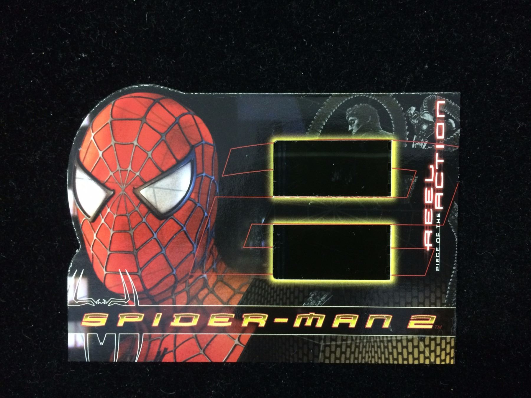 Spider Man 2 Smc Sm Reel Piece Of The Action Two Film Frames Insert