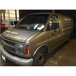 2001 Chevy 1500 Express Van