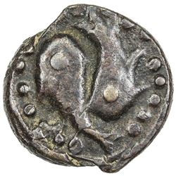 CIVIC COPPER: AE falus (3.24g), Qandahar, AH1301. VF