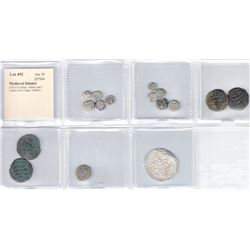 MEDIEVAL ISLAMIC: LOT of 12 silver, 1 billon, and 3 copper coins