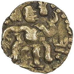 CEYLON: Anonymous, 10th-11th century, AV aka (0.52g). VF