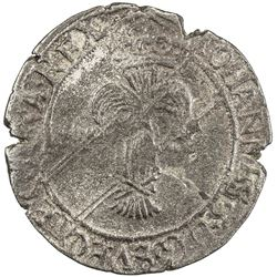 SWEDEN: Johan III, 1568-1592, AR mark (6.94g), [15]73/69. VF