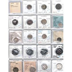 SWEDEN: LOT of 21 early silver coins