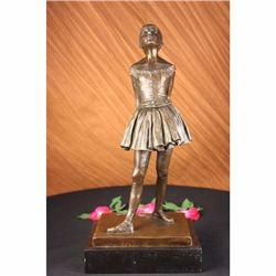Ballerina the Little Young Dancer Bronze Sculpture