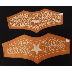 Mexican Embroidered Leather