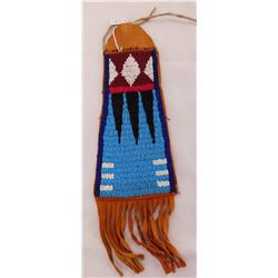 Plains Indian Bag w/Beadwork