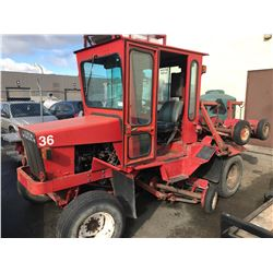 TORO 33677 DIESEL TRACTOR WITH REEL MOWERS SN 70109 HAVE REGISTRATION