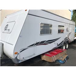 2006 FOREST RIVER SURVEYOR SVT 262 26' TRAVEL TRAILER, VIN #4X4TSVB226L006452