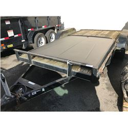 2012 16' CAR TRAILER  VIN 4YMUE1620CN00913 NO DECS