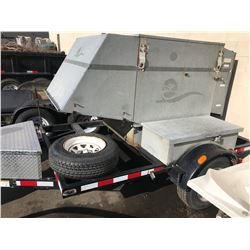 1995 G& M TRAILER, BLACK, WITH LOAD BANK TESTER, VIN#2G9FSE413S1031387, NO ICBC DECLARATIONS