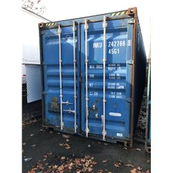 40'HIGH CUBE STEEL SHIPPING CONTAINER