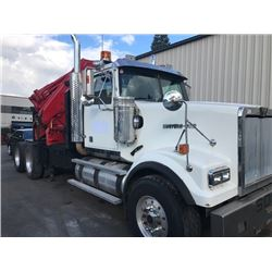 2008 WESTERN STAR TRUCK VIN#5KJJAEAV28PY63493 WITH CAT C15 ENGINE, EATON MANUAL TRANSMISSION, GVRW