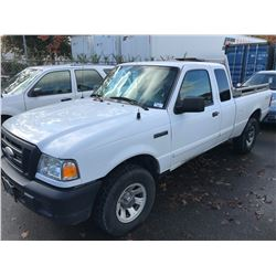 2006 FORD RANGER, 2 DOOR PICKUP, WHITE, 4.0L, GAS, AUTOMATIC, VIN#1FTZR45E46PA26416, 118,028KMS,