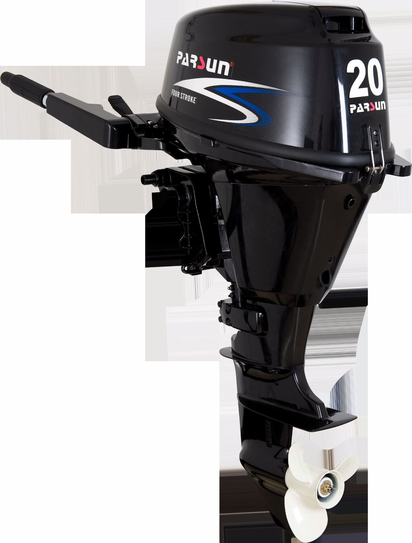 brand new parsun f20abm 20 hp four stroke outboard motor with rh liveauctionworld com