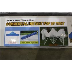 10' X 10' COMMERCIAL INSTANT POP UP TENT