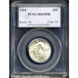 1929 25C MS65 Full Head PCGS.