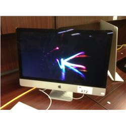 APPLE IMAC 27'' LATE 2013 DESKTOP COMPUTER, IMAC14,2, 3.2 GHZ INTEL CORE I5 PROCESSOR, 8 GB 1600