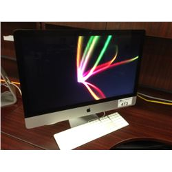 APPLE IMAC 27'' LATE 2012, IMAC13,2, 2.9 GHZ INTEL CORE I5 PROCESSOR, 8 GB 1600 MHZ DDR3 RAM,