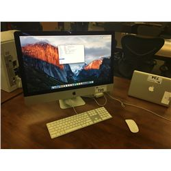 APPLE IMAC 27'', RETINA 5K, LATE 2015, IMAC17,1 3.2 GHZ INTEL CORE I5 PROCESSOR, 8 GB 1867 MHZ DDR3