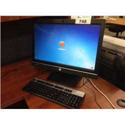 HP COMPAQ 8300 ALL-IN-ONE DESKTOP COMPUTER WITH INTEL I7 PROCESSOR, KEYBOARD AND MOUSE