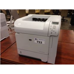 HP LASERJET P4014DN NETWORK PRINTER