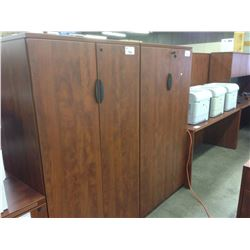 CHERRY 5.5' DOUBLE DOOR STORAGE CABINET