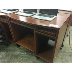 CHERRY 3' MOBILE COMPUTER DESK