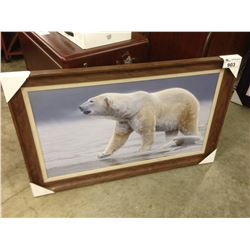 "DANIEL SMITH ""ARCTIC ICON"" FRAMED PRINT"