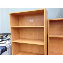 MAPLE 3' ADJUSTABLE SHELF BOOK CASE