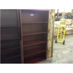 5.5' CHERRY BOOKCASE