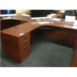 CHERRY 6' X 6' CORNER WORKSTATION