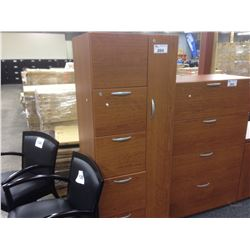 LIGHT CHERRY 6' PERSONAL STORAGE UNIT