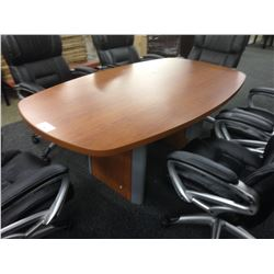 LIGHT CHERRY 6' X 3' CONFERENCE TABLE