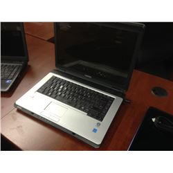 LIGHT GREY TOSHIBA NOTEBOOK COMPUTER, COMES WITH POWER SUPPLY, NO HARD DRIVE, CONDITION UNKNOWN
