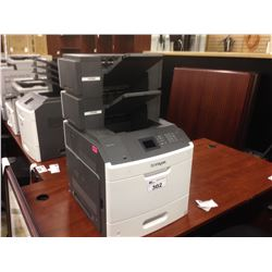 LEXMARK MS810DN NETWORK PRINTER WITH TWO ADDITIONAL OUTPUT TRAYS