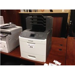 LEXMARK MS810 DN NETWORK PRINTER WITH FOUR ADDITIONAL OUTPUT TRAYS