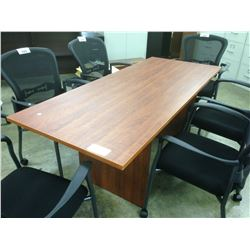 CHERRY 6' CONFERENCE TABLE