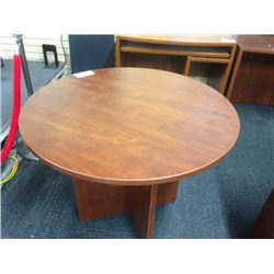 CHERRY 36'' ROUND TABLE