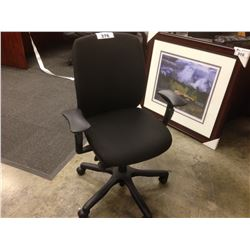 TEKNION AMICUS BLACK FULLY ADJUSTABLE TASK CHAIR