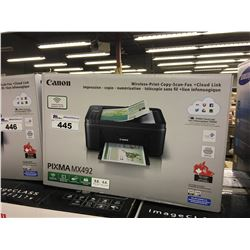CANON PIXMA MX492 MULTIFUNCTION WIRELESS PRINTER