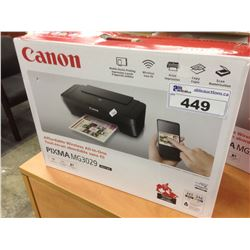 CANON PIXMA MG3029 MULTIFUNCTION WIRELESS PRINTER