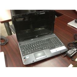 BLUE ACER NOTEBOOK COMPUTER, COMES WITH POWER SUPPLY, NO HARD DRIVE, CONDITION UNKNOWN