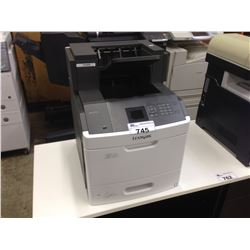 LEXMARK MS810DN NETWORK PRINTER WITH ADDITIONAL OUTPUT TRAY