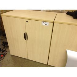 MAPLE 42'' DOUBLE DOOR STORAGE CABINET