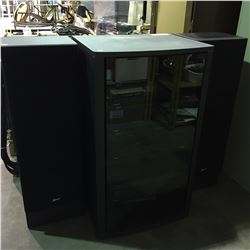 ZENITH HOME STEREO SYSTEM WITH CABINET