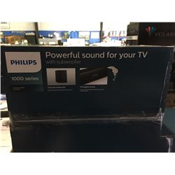 PHILIPS 1000 SERIES SOUND BAR & SUBWOOFER SET