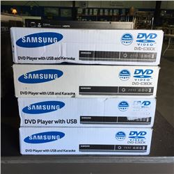 SAMSUNG DVD PLAYER WITH USB & KARAOKE
