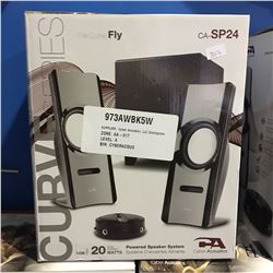 THE CURVE FLY SERIES POWERED SPEAKER SYSTEM