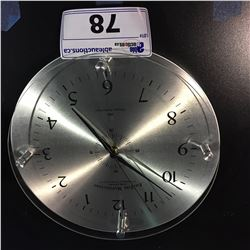 FIRSTIME MANUFACTORY WHISPER TECHNOLOGY WALL CLOCK